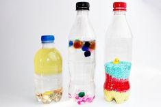 Jak zrobić butelki sensoryczne? - 3 pomysły DIY dla małego dziecka - Malinowa Planeta