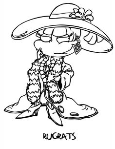 rugrats cartoons | rugrats coloring pages | pinterest | rugrats ... - Rugrats Characters Coloring Pages