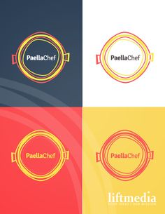 Logo for Paella company on Behance