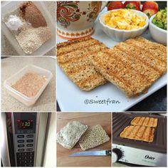 La receta del pan rápido ya se las había subido antes, pero se que muchos no la vieron así que se las vuelvo a dejar.  Pan de avena express.  Para…