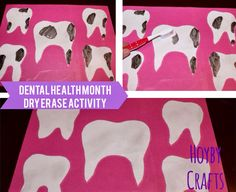 Hoyby Crafts: Dental Health Month Activity for Kids