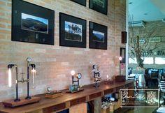 """Galeria de Arte Mírian Badaró organiza exposição no Restaurante Toscana para o """"2.° Festival Gastronômico de Taubaté-SP"""" com obras de Cesar David e do fotógrafo Mário Lúcio Sapucahy. Mostra vai até 04 de Outubro. Aproveite para prestigiar e conhecer!"""