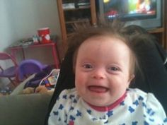 """Mother: There's Nothing """"Down"""" About Down Syndrome! http://www.lifenews.com/2012/02/24/mother-theres-nothing-down-about-down-syndrome/"""