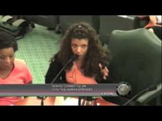 @VictorianPrude speaks out against SB1 at the Texas Senate Committee Meeting and is carried away by State Troopers