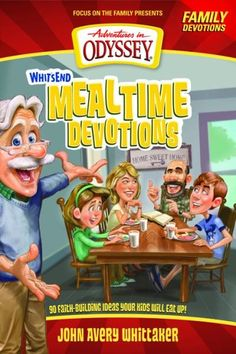 Next time you sit down to eat, enjoy some spiritual food too! Get everyone talking—and learning—with the nourishment of Whit's End Mealtime Devotions!