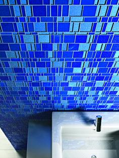 Liberty - Blue - Glass Mosaic