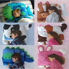 Details about Baby Kids Toddler Cartoon Animal Pillowcase Standard Sham Sleep Pillow Support Baby Kids Toddler Cartoon Animal Pillowcase Standard Sham Sleep Pillow Support. Baby Pillows, Kids Pillows, Sewing Crafts, Sewing Projects, Animal Nursery, Baby Kind, Cushion Pads, Home And Deco, Pillow Cases