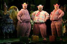 three little pig costumes | Shrek Little Pigs