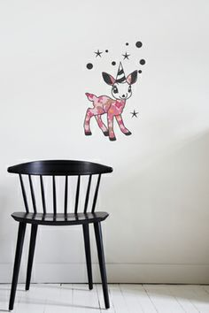 sticker Circus - idéal pour les chambres d'enfants - wall decals for kids room - baby wall decoration - brand: funambulus - univers poétique et léger : www.funambulus.fr stickers made in France
