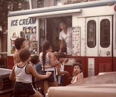 This is Joe, the ice cream man/truck from my childhood.  I can still hear the bell in my memory :)