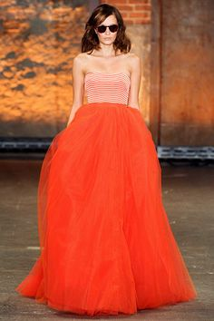 christian siriano show stopper! <--love the colors for a party