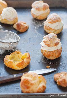 Kitchen Heals Soul    cream puffs