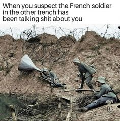 49 Memes to Help Kickstart Your Week - Funny Gallery Military Jokes, Army Humor, Funny Jump, History Memes, Thing 1, Funny Moments, Funny Things, Funny Comics, Funny Posts