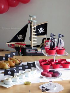 Happiness is Homemade Pirate Party