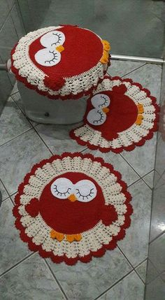 Image gallery – Page 521925044313718343 – Artofit Crochet Owls, Crochet Doily Patterns, Crochet Squares, Crochet Doilies, Free Crochet, Tin Can Crafts, Owl Crafts, Diy And Crafts, Crochet Projects