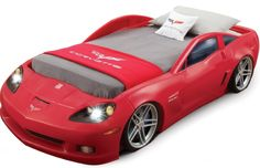 car bed. if i end up having a son and loves cars, he will have this bed