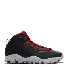 289c64ff8 Air Jordan 10 Retro Psny Black Gym Red Wlf Gry 537687 aj10