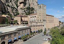 Santa Maria de Montserrat Abbey - Wikipedia