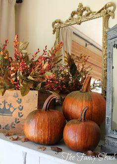 The Fancy Shack- fall autumn decor