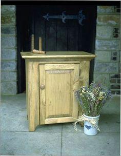 Southern Pine One Door Cabinet