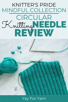 These stainless steel circular knitting needles from Knitter's Pride are some of the best I have tried! See how they compare to other popular brands, and what I think of the quality and performance. #knittingneedles #knitting #knittingneedlereviews #knittingtools #knitterspride Knitting Help, Knitting For Beginners, Lace Knitting, Knitting Patterns Free, Knitting Supplies, Knitting Projects, Knitting Tutorials, Crochet Projects, Diy Knitting Accessories