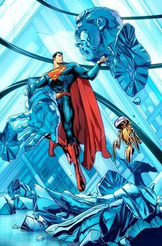 Jorge Jiménez  Superman. by Jorge Jimenez