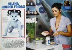 Helena Christensen's Copenhagen flat in ASSCHENFELDTs Magazine March 1998