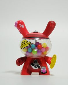 Gumball Dunny by Mr Frames - very cute, hope it actually dispenses gumballs!