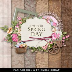 Far Far Hill: Freebies Spring Kit - Spring Day