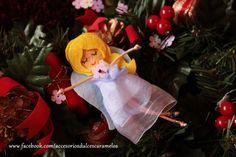 Quecas de Fieltro / Dolls felt angel mod24 http://accesoriosdulcescaramelos.blogspot.com.es/search/label/Mu%C3%B1ecas%20%28Quecas%20de%20Fieltro%29