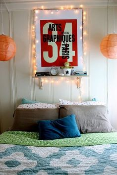 fun im getting lights to do this over my bed!