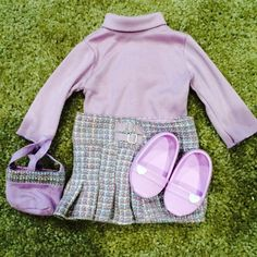 For Sale: American Girl Purple Outfit for $5