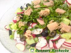 Thunfisch-Radieschen-Salat