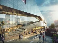 The Heart of Yiwu, An 'Urban Living' Plaza   Aedas   Architecture   Retail   Yiwu, PRC