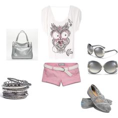 owl, created by amanda-lewis-perkins on Polyvore