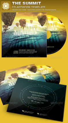 The Summit CD Artwork Template is sold exclusively on graphicriver, it can be used for your Church Events, Sermons, Gospel Concert etc, or for any other marketing projects.