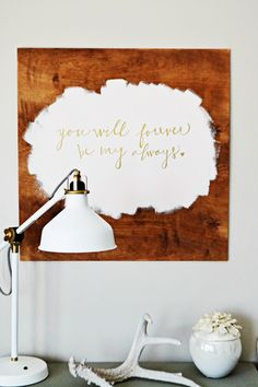 Simple yet stunning DIY art from @myfabulesslife via #whipperberry