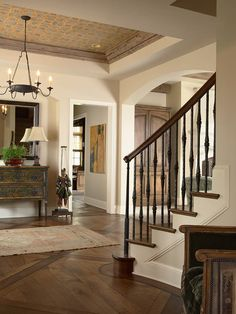 Stained Oak Floors Design, Pictures, Remodel, Decor and Ideas - page 4