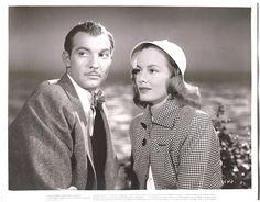 FAYE EMERSON ZACHARY SCOTT ORIGINAL Vintage 1945 DANGER SIGNAL Film Noir PHOTO