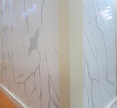 CALACATTA QuartzStone Slab Welcome To China Marmoglass Nanoglass Nano Crystallized Glass Panel Engineered StoneStone