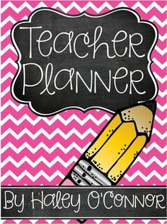 Editable Teacher Binder***Updated for June 2015-July 2016*This planner is updated for the 2015-2016 school year! With this purchase, you will receive updates each year for free! :) Just go to your purchases and redownload! I am SO excited to share this planner with you!