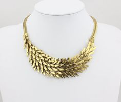 Statement Necklace, Fashion Animal Necklace Collar ,Women Choker Necklace