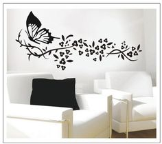 Butterfly Wall Decal Removable Stickers Living Room Bedroom Decor