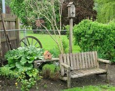 funky junk interiors | Its the little things that make a house a home...: All About Benches ...