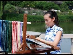 The elegant aesthetics and subtlety of Suzhou, a city with a history of more than years, inspired the beautiful art of silk embroidery, Su embroidery, . Chinese Embroidery, Beaded Embroidery, Embroidery Stitches, Embroidery Patterns, Thread Painting, Suzhou, Pin Cushions, Beading, Beadwork