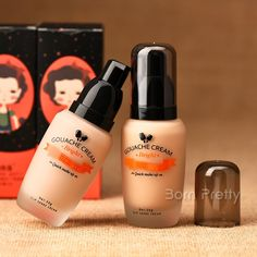 $ 7,26 Creme 1pc BB Creme Hidratante Foundation para Maquiagem 2 cores - BornPrettyStore.com