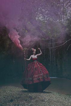 Photographer: Andrea Gottardi Designer/Model: Lil Zan Makeup: Beatrice Sabboni Fattoni Assistant: Carlo Non Fario