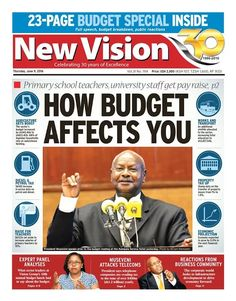 Grab your copy of the New Vision and Keep up to date with trending stories hot off the press-https://vpg.visiongroup.co.ug/flippaper/personal/