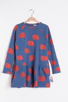 Nadadelazos Φόρεμα - Elephants Barcelona, Bell Sleeves, Bell Sleeve Top, Muffin, Sweaters, Tops, Women, Fashion, Moda