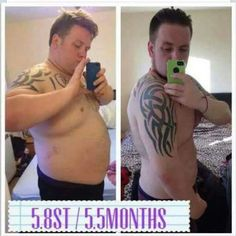 Not just our ladies seeing results. Check out his amazing results in just over 5 months! Wow ✨  Get in touch if you want to know how you can achieve results like these.   #teamprince #teamprincess